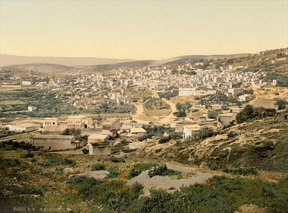 21-Ottoman Palestine (1890-1900) From the road to Cana, Nazareth, Holy Land.resized.jpg
